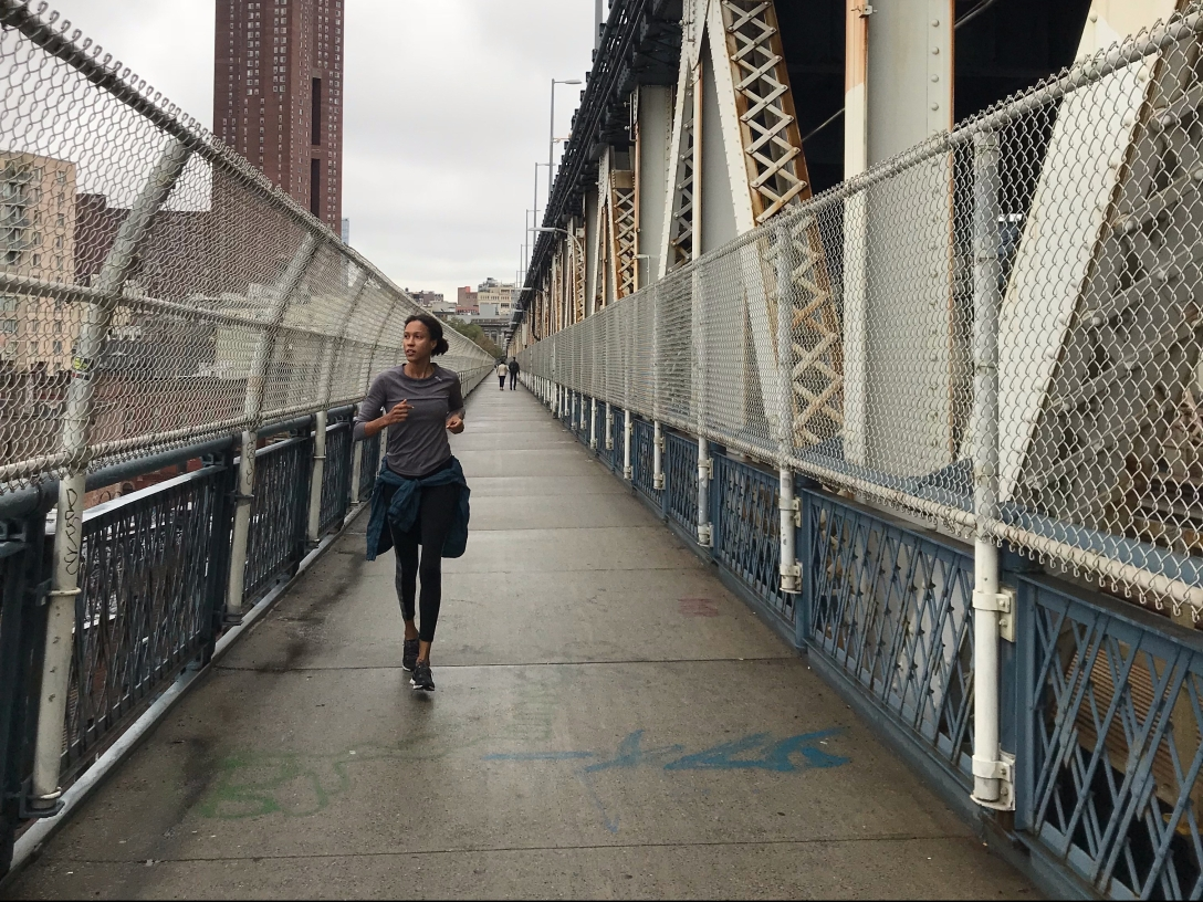 Manhattan bridge run
