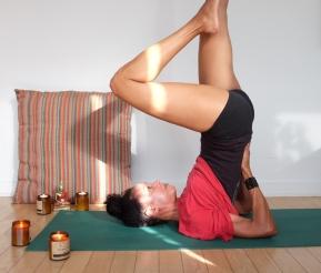 yoga upside down